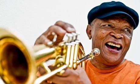Legendary trumpeter Hugh Masekela